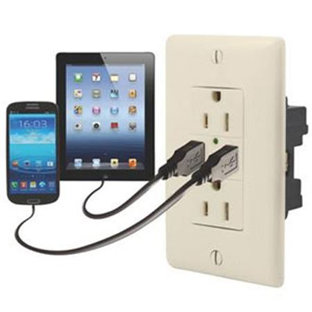 Picture for category Receptacles & Faceplates