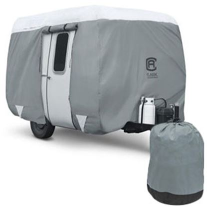 Picture of Classic Accessories PolyPRO (TM) 3 RV Cover For 8-10' Molded Fiberglass Travel Trailers 80-294-143101-RT 01-0090