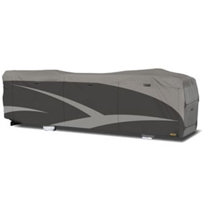 "Picture of ADCO Designer SFS Aquashed (R) Gray Fabric/Poly Cover For 34' 1""-37' Class A Motorhomes 52206 01-0230"