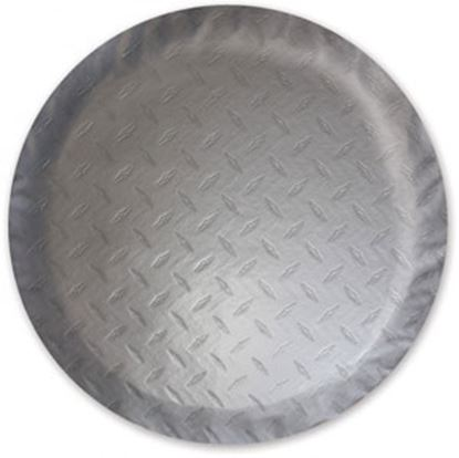 "Picture of ADCO  Steel Look 24"" Size-N Spare Tire Cover 9759 01-0378"
