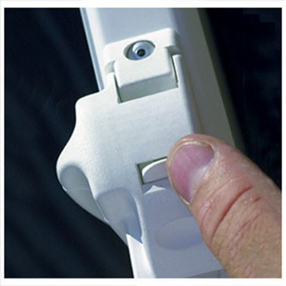 Picture of Carefree  White Awning Travel Lock For Spirit FX/ Fiesta 901017W 01-0537