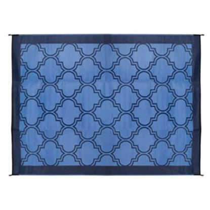 Picture of Camco  6' x 9'  Blue Camping Mat 42876 01-0746