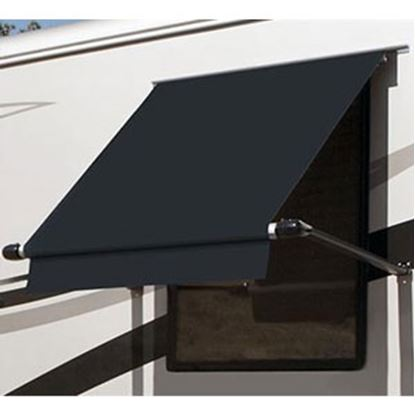 Picture of Carefree SimplyShade (R) Black 4.5' DIY Window Awning WG0454E4EB 01-0933