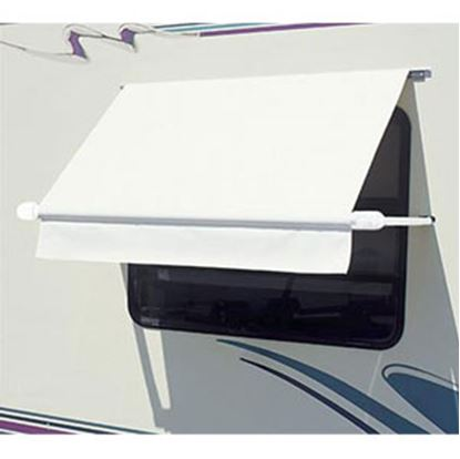 Picture of Carefree SimplyShade (R) White 4.5' DIY Window Awning WH0454F4FW 01-0985