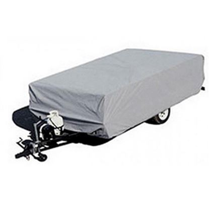 "Picture of ADCO  Gray Poly Cover For Folding/Pop-Up 12'1""-14' Tent Trailers 2893 01-1095"