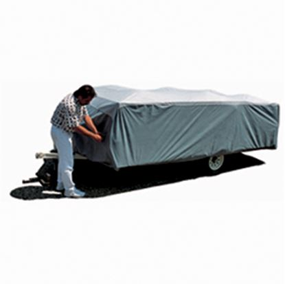 "Picture of ADCO SFS AquaShed (R) Gray Polypropylene Cover For 14' 1""-16' Folding/Pop Up Trailers 12294 01-1141"