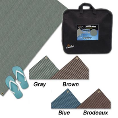 Picture of Carefree Dura-Mat (TM) 8' x 12' Blue Camping Mat 181273 01-2517