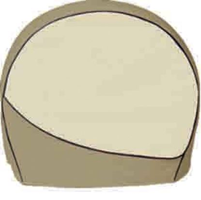 """Picture of ADCO Designer Tyre Gard 4-Pack Brown 30"""" to 32"""" Diam ingle Tire Cover 3962 01-3672"""