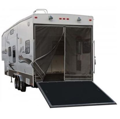 Picture of Classic Accessories Poly 1 Rip & Grip Strip/Magnetic Opening Trailer Tailgate Screen 79984 01-3780