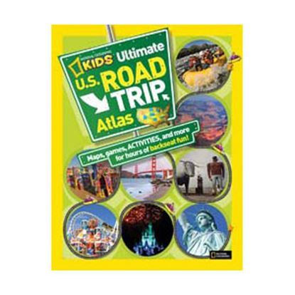 """Picture of National Geographic  128 Pages 11""""H x 8-1/2""""W United States Kids Road Atlas By National Geographi BK26309335 03-0232"""