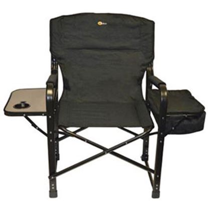 Picture of Faulkner  Black El Capitan Director's Chair w/ Side Tray & Cooler Bag 49580 03-0313