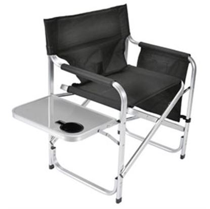Picture of Faulkner  Black Director's Chair w/ Side Tray & Pocket Pouch 48871 03-0475