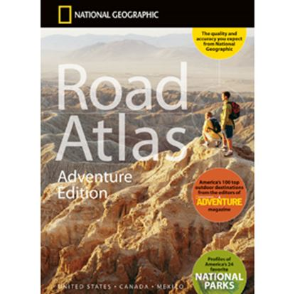 """Picture of National Geographic  144 Pages 15""""H x 11""""W North American Road Atlas By National Geographic RD00620166 03-1001"""