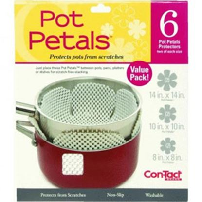 """Picture of Con-Tact  14"""" Large, 10"""" Medium, 8"""" Small Washable Cookware Protector KTCH-C03032-12 03-1459"""