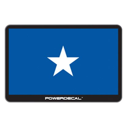 Picture of PowerDecal  Blue Bonnie Flag Powerdecal PWRBONNIE 03-1761