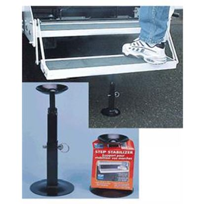 Picture of CP Products  Black Steel Entry Step Support 65264 04-0043