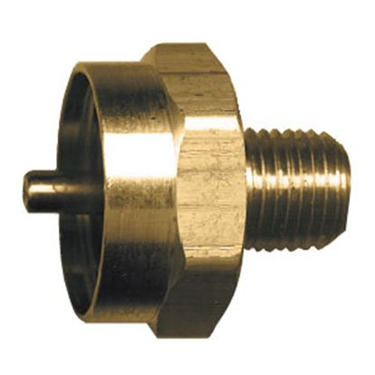 """Picture of JR Products  1""""- 20 FCT x 1/4"""" MPT LP Adapter Fitting 07-30185 06-0072"""