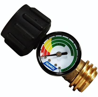 Picture of Camco  LP Tank Gauge w/ Leak Detector 59023 06-0384