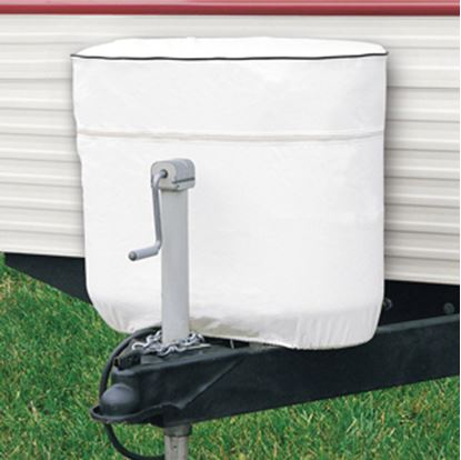 Picture of Classic Accessories  Snow White Vinyl Double 30LB/7.5Gal LP Tank Cover 79730 06-0608