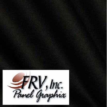 Picture of FRV  N1200 Black Acrylic Refrigerator Door Panel N1200L 07-0671