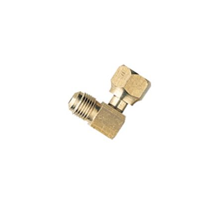 """Picture of Camco  3/8"""" Female Flare x 3/8"""" Male Flare Brass LP Hose Connector 57633 08-0139"""