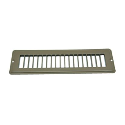 "Picture of AP Products  Brown 2-1/4""W x 10""L Floor Heating/ Cooling Register w/o Damper 013-643 08-0156"