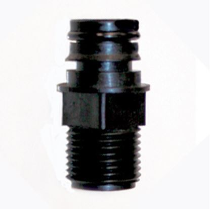 """Picture of Remco  3/4"""" QC x 1/2"""" MNPT Fresh Water Adapter Fitting QTS-556 10-0035"""