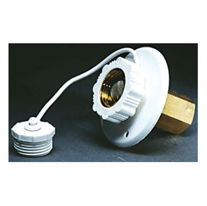 Picture of Aqua Pro  Aluminum Surface Mount Flange Fresh Water Inlet 27869 10-0674