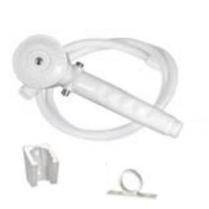 """Picture of Phoenix Faucets  Biscuit Handheld Shower Head w/Single Spray Setting & 60"""" Hose PF276025 10-1507"""