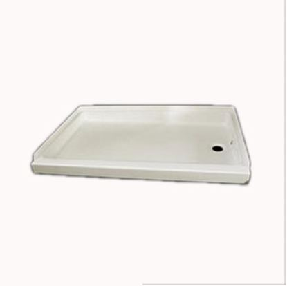 "Picture of Specialty Recreation  Parchment 24""x 24"" Center Drain Shower Pan SP2424P 10-1823"
