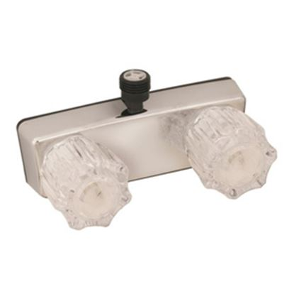 """Picture of Empire Brass  4"""" Chrome Plated Plastic Shower Valve w/Clear Knobs U-YJW53VB 10-2345"""