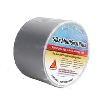 """Picture of Sika Multiseal Plus Gray 4"""" x 50' Roll TPO Roof Repair Tape 017-413829 13-0036"""