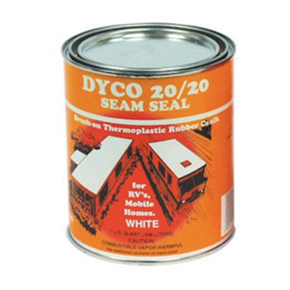 Picture of Dyco Paints  White 1 Gal Can Synthetic Rubber Caulk 2020-SS 13-0647