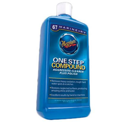 Picture of Meguiars One Step 32 oz Bottle Liquid Polishing Compound M6732 13-0762