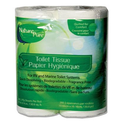 Picture of CP Products  4-Roll 2-Ply Toilet Tissue 25965 13-1129