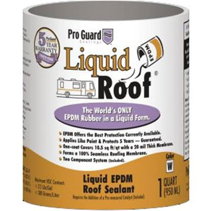 Picture of Pro Guard Liquid Roof 1 Qt Off White Roof Coating F9991-Q 13-1382