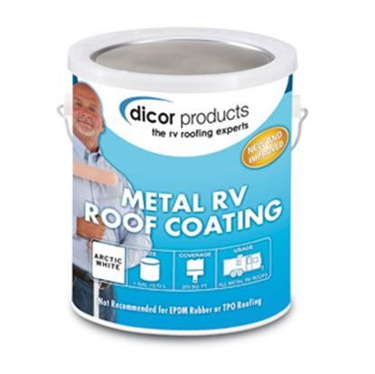 Picture of Dicor  1 Gal Can White Roof Coating For RV Roof RP-MRC-1 13-1405