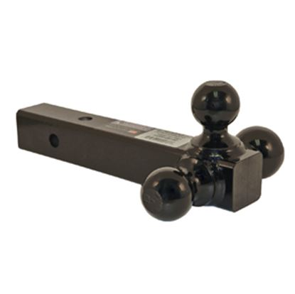 "Picture of B&W Hitches  Class III 2"" 3.5/7.5K/10K 12""L Ball Mount w/ Triple Ball BMTT31004 14-0512"