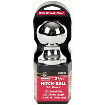 """Picture of Husky Towing  2-5/16"""" Trailer Hitch Ball w/ 1-1/4"""" Diam Shank 30255 14-1050"""