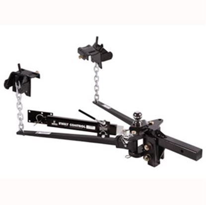 """Picture of Husky Towing  600-800lb Trunnion Bar Weight Distribution Hitch w/ 10"""" Shank & Ball 31620 14-1072"""