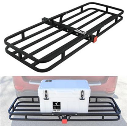"Picture of Camco  51-1/2""x17-1/2""x3-1/4"" 500 Lb Cargo Carrier for 2"" Hitch 48475 14-1533"