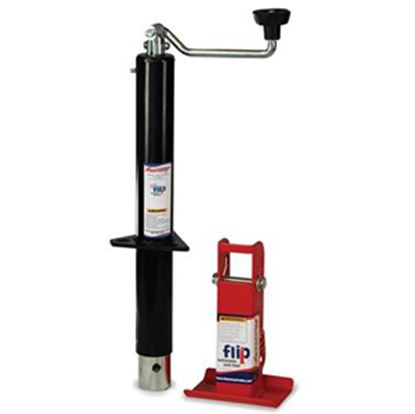 Picture of Fastway Flip (TM) Black 2000 Lb Topwind Trailer Jack 88-00-5165 15-0203