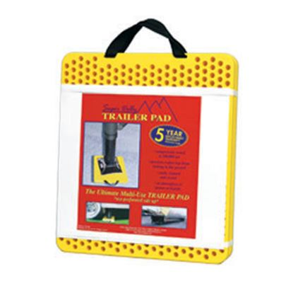 """Picture of AP Products Super Dolly 2-Pack 15"""" x 17"""" x 1"""" Trailer Stabilizer Jack Pad 007-87825 15-0245"""