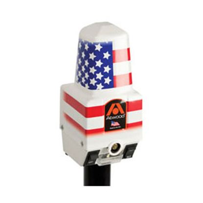 Picture of Dometic  White 2500 Lb Electric Deluxe Trailer Jack 80931 15-0316