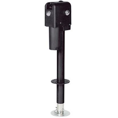 Picture of Suspension Pro  Black 2500 Lb A-Frame Round ACME Screw Trailer Jack 81199 15-1464