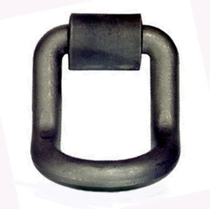 """Picture of Pacific Cargo  1"""" D-Ring w/Weld-On Clip DR-100L-B 16-0674"""
