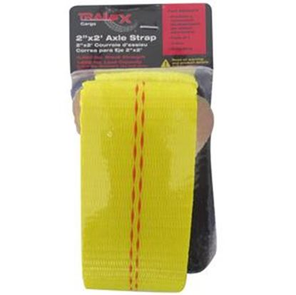 "Picture of Trail FX TFX Axle Strap Single Yellow 1666 lb 2""x24"" Axle Strap A92031Y 16-8998"