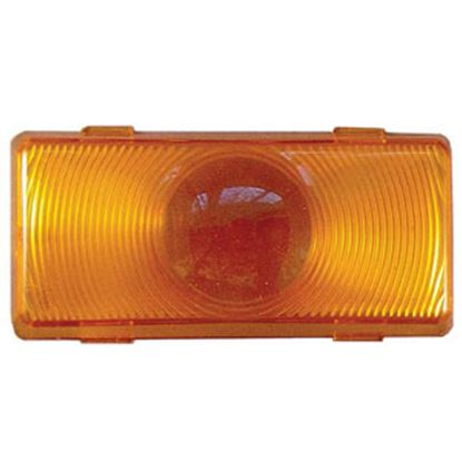 Picture of Command  Amber Lens For Command Classic 12V Incandescent 007-50AC Porch Light 89-100A 18-0193