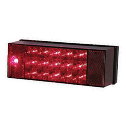 "Picture of Peterson Mfg.  Red 7.94""x2.88"" LED Stop/ Turn/ Tail/ License Light V856L 18-0362"