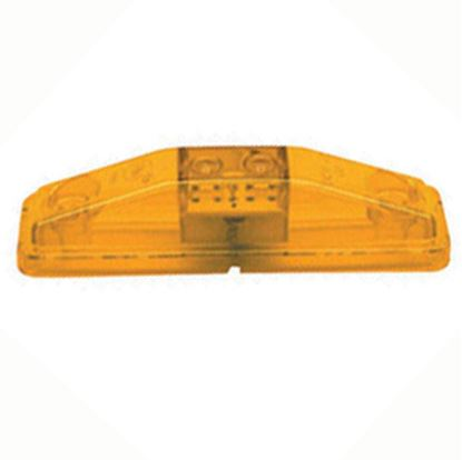 """Picture of Peterson Mfg.  Amber 4-1/16""""L x 1-1/16""""W x 1-5/16""""D Clearance LED Side Marker Light V169KA 18-0383"""